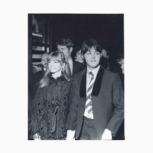 Unknown, Paul McCartney and Jane Asher in 1968, Vintage Photograph