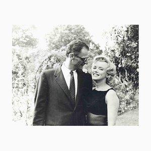 Robert Haswell, Marilyn Monroe und Arthur Miller, Vintage Fotografie, 1950er Jahre