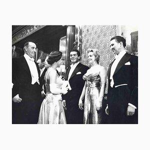 Paul Popper, Marilyn Monroe and Princess Margaret, Vintage Photograph, 1950s