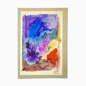 Leo Guide, Komposition, Zeichnung, 1980er