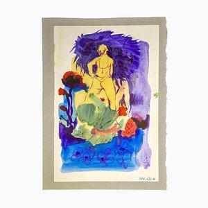 Leo Guide, Komposition, Zeichnung, 1970er