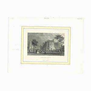 Unbekannt, Lancaster Castle, Lithographie, Mitte 19. Jh