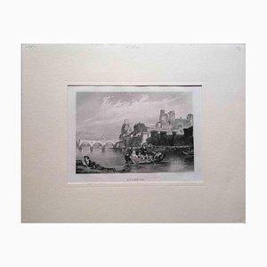 Unbekannt, Avignon, Lithographie, Mitte 19. Jh