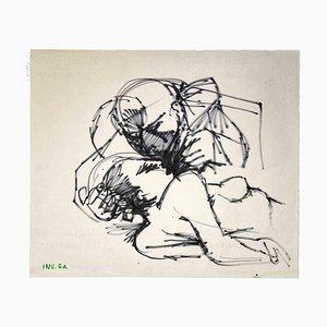 Leo Guida, The Kiss, Zeichnungen, 1970er