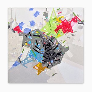 Idinuuu, Abstract Painting, 2018