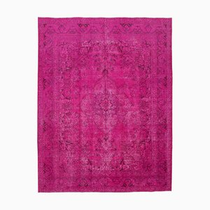 Pink Overdyed Large Area Rug