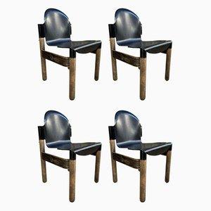 Mid-Century Flex Stühle von Gerd Lange, 4er Set