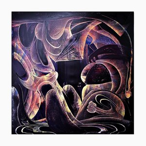 Uruguayische Kunst von Mauricio Paz Viola, Fleeting, 2021