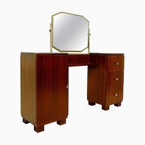 Art Deco Frisiertisch aus Holz