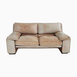 Mid-Century Italian Nappa Leather Sofa by Ferruccio Brunati, 1970s