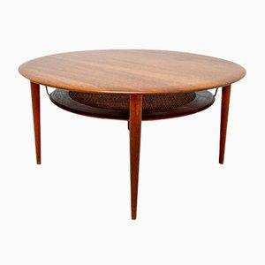Teak Model 515 Coffee Table by Peter Hvidt & Orla Mølgaard-Nielsen for France & Søn / France & Daverkosen, 1960s