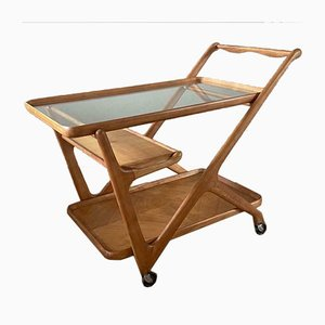 Vintage Bar Cart by Cesare Lacca for Cassina, 1950s