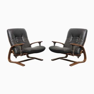Armchairs from Westnofa, 1970s, Set of 2