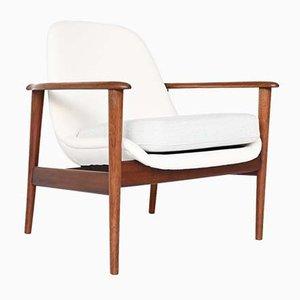 Scandinavian Lounge Chair in the Style of Kofod-Larsen, Denmark, 1960s