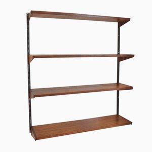 Danish Rosewood Shelves by Kai Kristiansen for Feldballes Møbelfabrik, 1960s, Set of 4