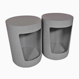 Side Tables or Bedsides Units, Set of 2