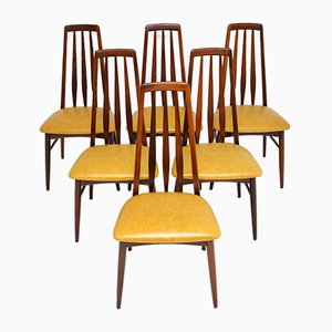 Dänische Esszimmerstühle von Niels Koefoed für Koefoeds Hornslet, 1960er, 6er Set