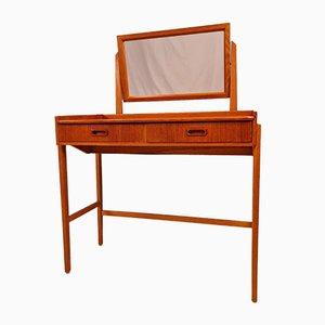 Mid-Century Modern Danish Teak Vanity Table, 1960s