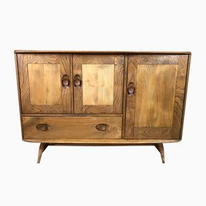 Mid-Century Blonde Beech & Elm Model 467 Sideboard by Lucian Ercolani for Ercol