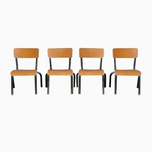 Chaises pour Enfant Indus, Set de 4