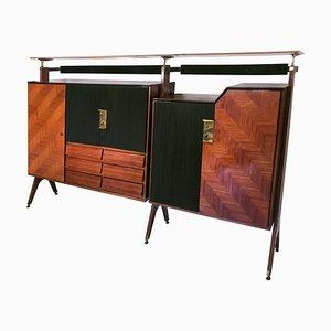 Mid-Century Italian Sideboard or Cupboard from La Permanente Mobili Cantù, 1950s