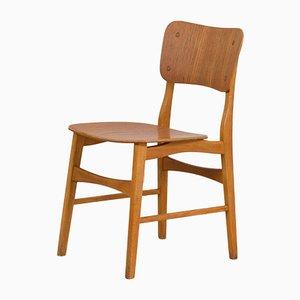 Danish Mid-Century Modern Teak Desk Chair in the Style of Børge Mogensen