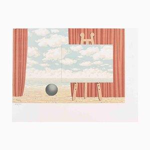 La Belle Captive, Lithographie, René Magritte, 1969