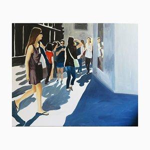 Französische Zeitgenössische Kunst, Karine Bartoli, Rue De Paris, 2021