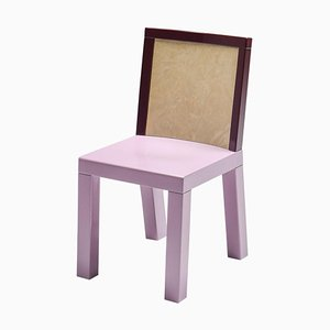 Pink Dining Chair by Ettore Sottsass for Leitner