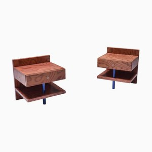 Side Tables by Ettore Sottsass for Leitner, Set of 2