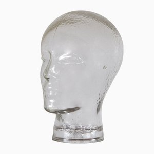 Vintage Glass Head, 1960s