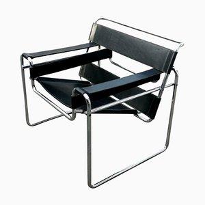 Wassily Armlehnstuhl von Marcel Breuer für Gavina, 1960er