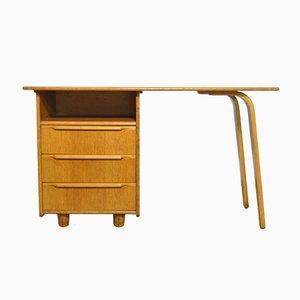 Vintage Oak Desk by Cees Braakman for Pastoe, 1950s