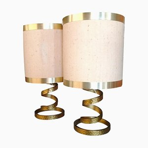 Tischlampen von Luciano Frigerio Di Desio, 1970er, 2er Set