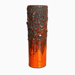 Glasierte Keramikvase von Otto Keramik, 1970er