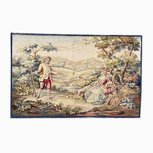 Antique Aubusson Tapestry, 1890s