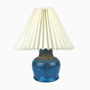 Blue and Grey Table Lamp by Nils Kähler, Denmark, 1960s