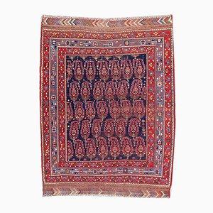 Antique Afshar Rug, 1890s