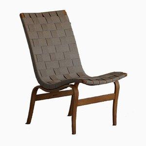 Mid-Century Swedish Eva Easy Chair by Bruno Mathsson for Karl Mathsson, 1960s