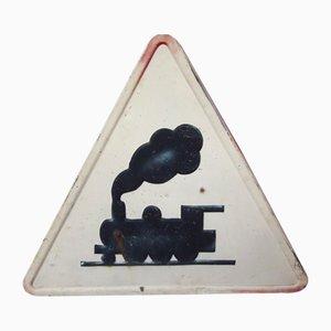 Französische Eisenbahn Schild