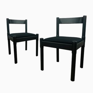 Carimate Chairs by Vico Magistretti for Cassina, 1960s, Set of 2