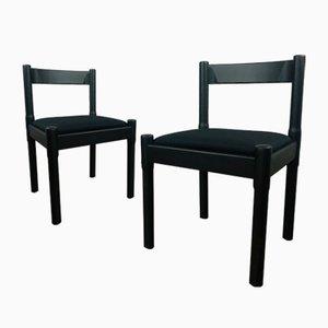 Carimate Stühle von Vico Magistretti für Cassina, 1960er, 2er Set