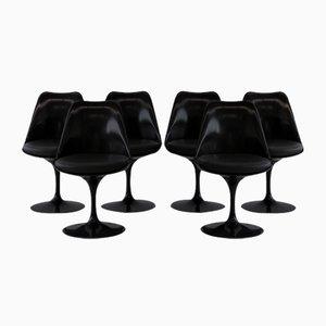 Drehbare Tulip Stühle von Eero Saarinen für Knoll Inc. / Knoll International, 6er Set