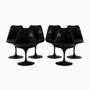 Revolving Tulip Chairs by Eero Saarinen for Knoll Inc. / Knoll International, Set of 6