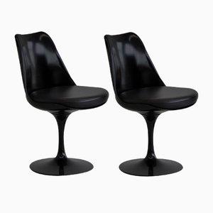 Revolving Tulip Chairs by Eero Saarinen for Knoll Inc. / Knoll International, Set of 2