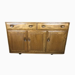 Mid-Century Blonde Windsor Sideboard by Lucian Ercolani for Ercol