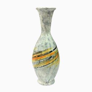 Mid-Century Ceramic Vase with Expressive Decor by Livia Gorka, 1970s