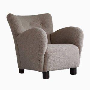 Danish Modern Easy Chair in the style of Flemming Lassen, 1940s
