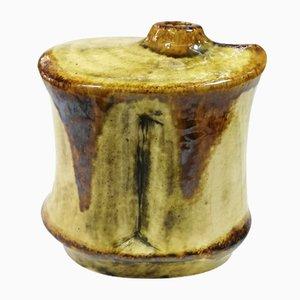 Keramikvase aus Pyrogranit von Gyorgy Fürtös für Zsolnay, 1970er