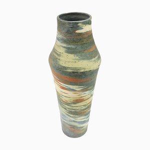 Große Keramik Bodenvase von Eva Bod, 1970er